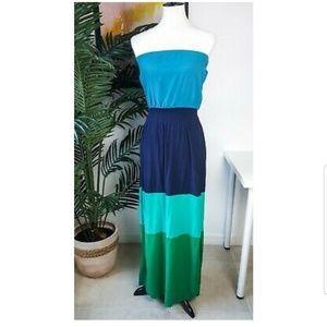 GAP strapless maxi dress